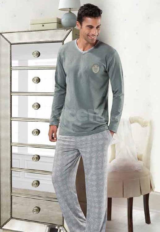 NBB 7777 Erkek Uzun Kollu Pijama Takımı